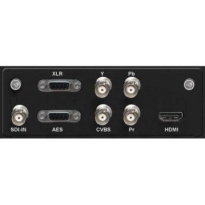 H-XX-DVBS2X is an integrated SDI / HDMI / YPbPr HD Encoder and DVB-S/S2/S2X Modulator